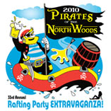 Logo for Pirates of the Northwoods Party