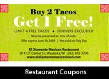 Coupon Design for Restaurants