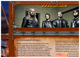 HEDDA the Band, Web Design for Rock Bands, Web Design for Bands
